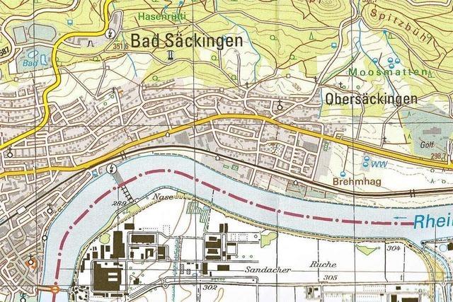 Region Bad Säckingen in neuer Grafik