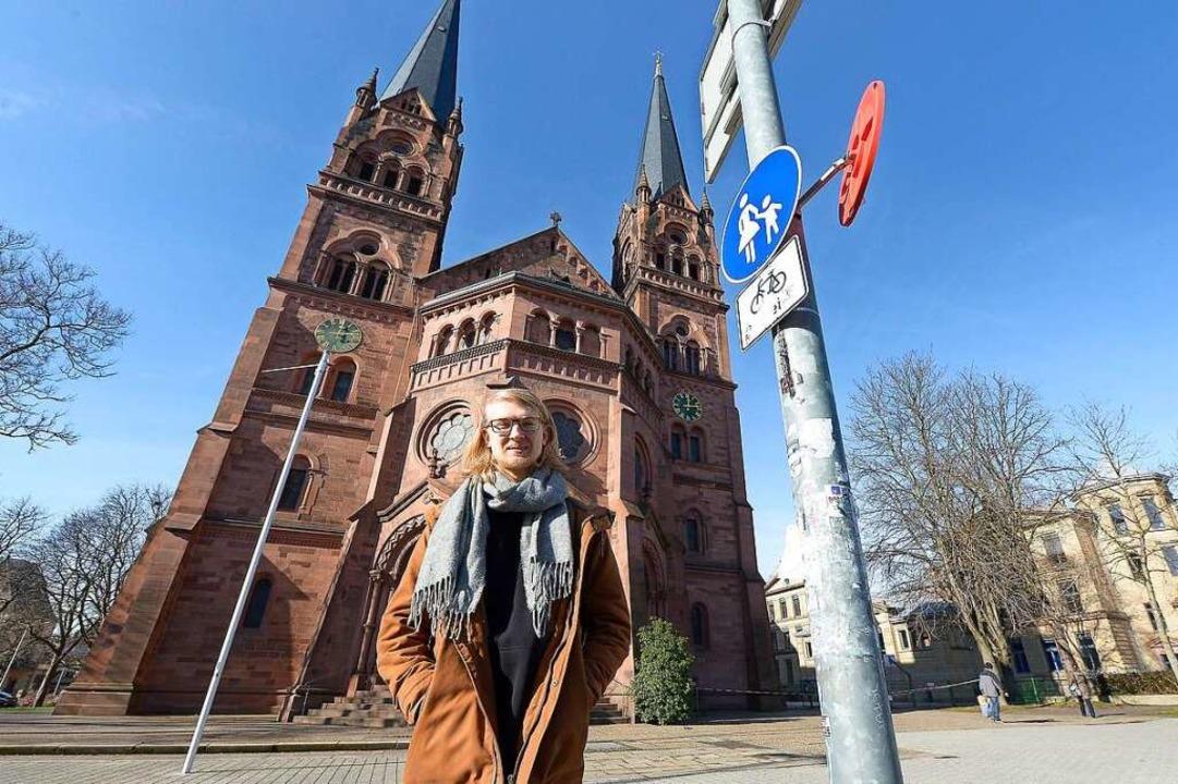 Paul Wallrapp hat sich von Dietenbach überzeugen lassen.  | Foto: Ingo Schneider