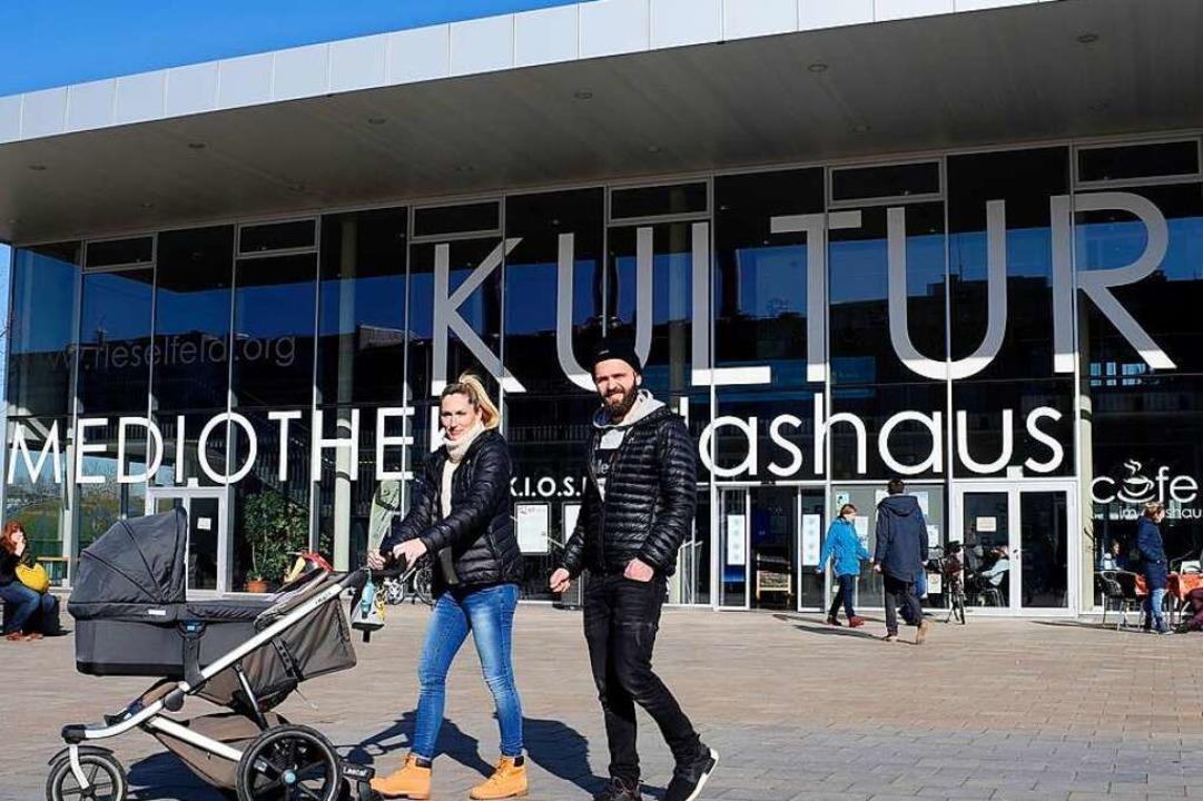 Kerstin und Patrick Boschert sind für Dietenbach.  | Foto: Thomas Kunz