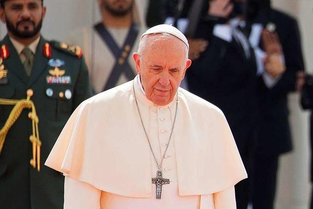 Papst räumt sexuellen Missbrauch von Nonnen in Kirche ein