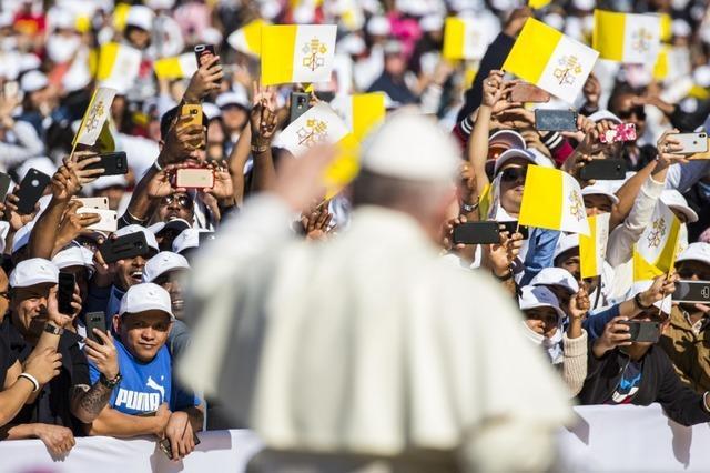 Größter Gottesdienst auf der Arabischen Halbinsel