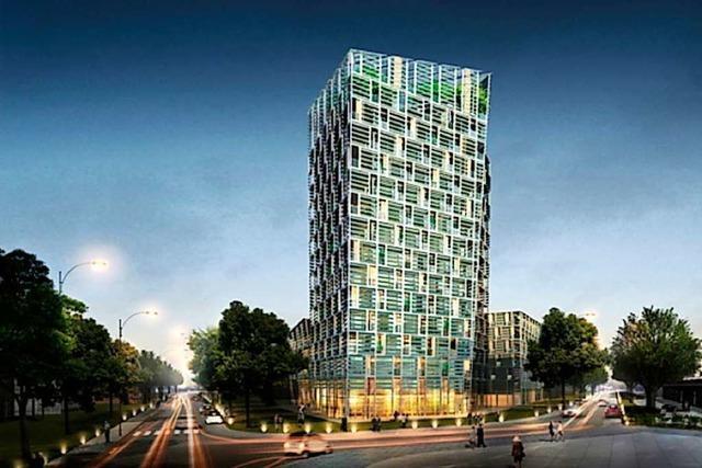 Der Smart Green Tower soll nicht zur Bauruine werden