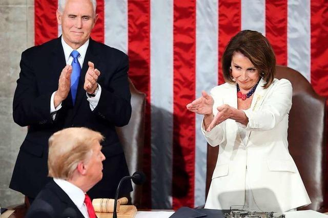 Trumps Auftritt vor dem Kongress war eine polemische Wahlkampfrede