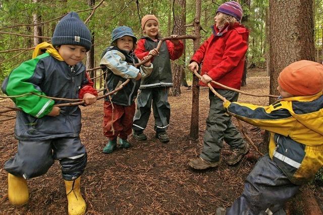 Der Gundelfinger Waldkindergarten will wachsen