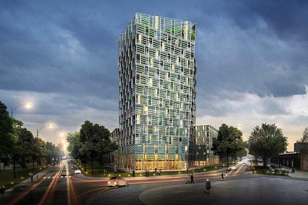 Innovativ und modern: So soll das 51 M...t offenbar Probleme bei der Umsetzung.    Foto: Architekturbüro Frey