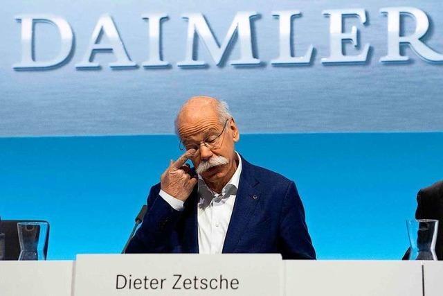 Beim Stuttgarter Autobauer bricht der Gewinn ein