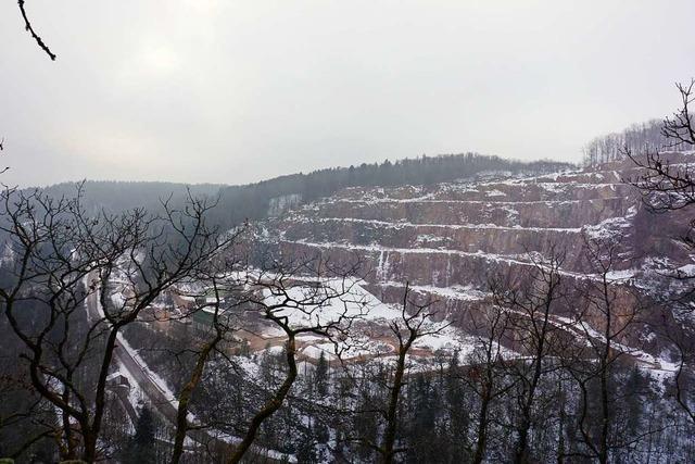 Erweiterung des Steinbruchs Tiefenstein in der Diskussion