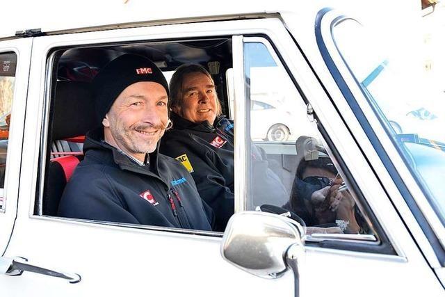 Mit der alten Giulia nach Monaco: Dreisamtäler fahren bei Rallye mit