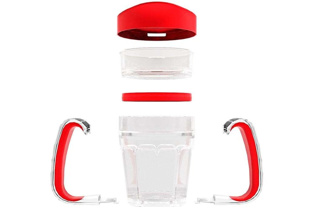 Sippa-Trinkbecher mit Membran, Mundstück und Griffen  | Foto: Firmenmaterial