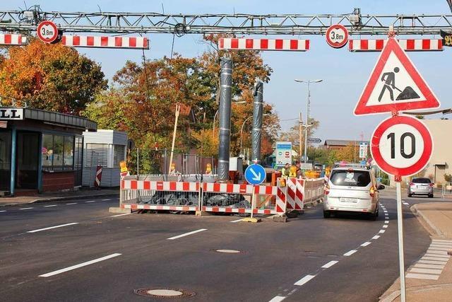 Grenzach-Wyhlen: Termin für Zollumbau steht