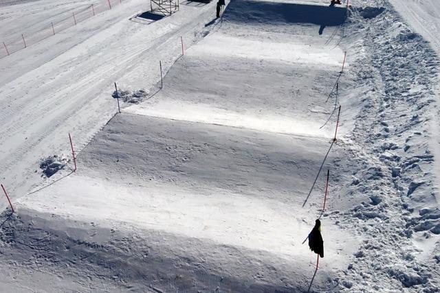 40.000 Kubikmeter Schnee für die weltbesten Boarder am Feldberg