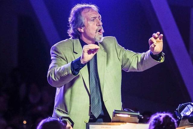 Werner Erhart verabschiedet sich von den Musikvereinen Ihringen und Oberrimsingen