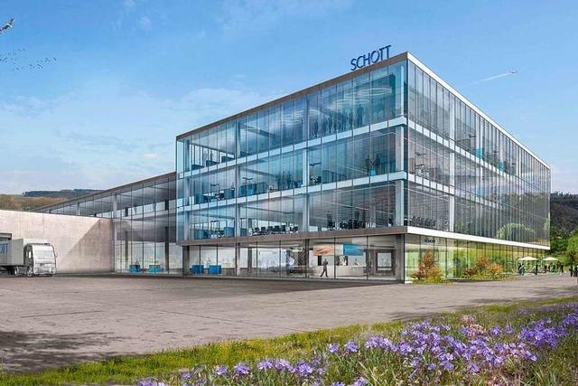 Schott AG will in Hügelheim 100 neue Arbeitsplätze schaffen