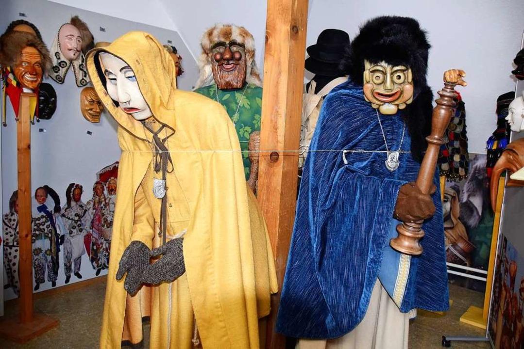 Die neue Maskenschau  wird am 15. Februar eröffnet.    Foto: Hildegard Siebold