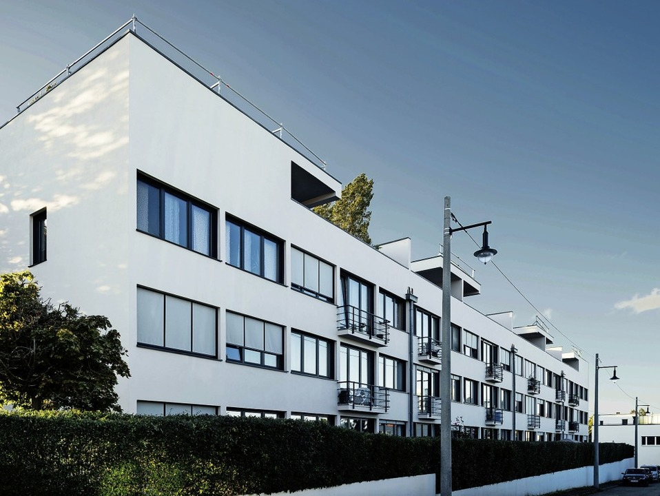 Typisches Beispiel von Minimalismus: die Weissenhofsiedlung in Stuttgart   | Foto: Tillmann FRanzen