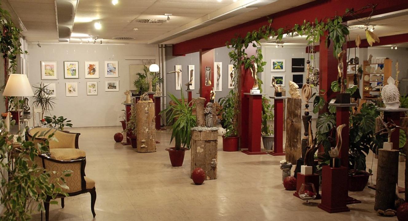 Hier soll sich jeder wie zu Hause fühl...Werkstatt mit Ausstellungsmöglichkeit.  | Foto: Maja Tolsdorf