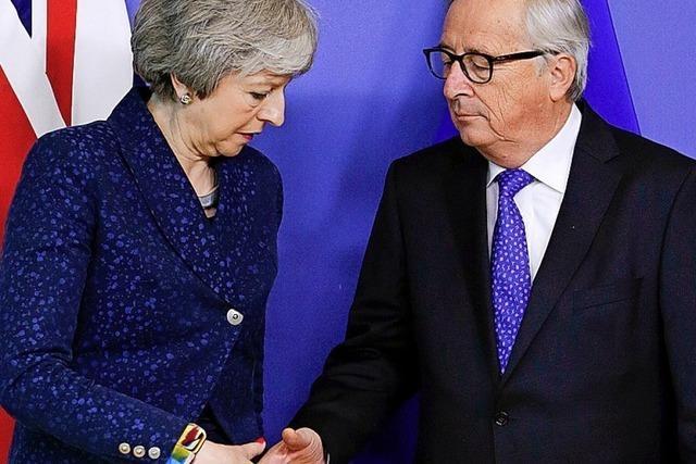 Und Frau May war wieder mal in Brüssel