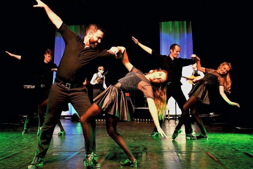 Andrew Vickers (links vorne): Ihn treffen die Gewinner vor der Show.  | Foto: Wolfgang Bäumler CROI