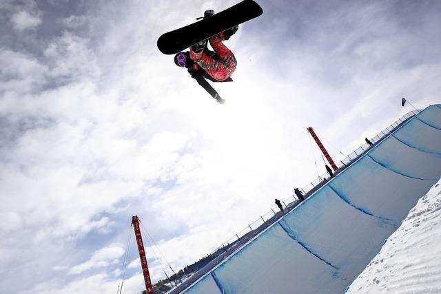 Snowboard-WM in Park City