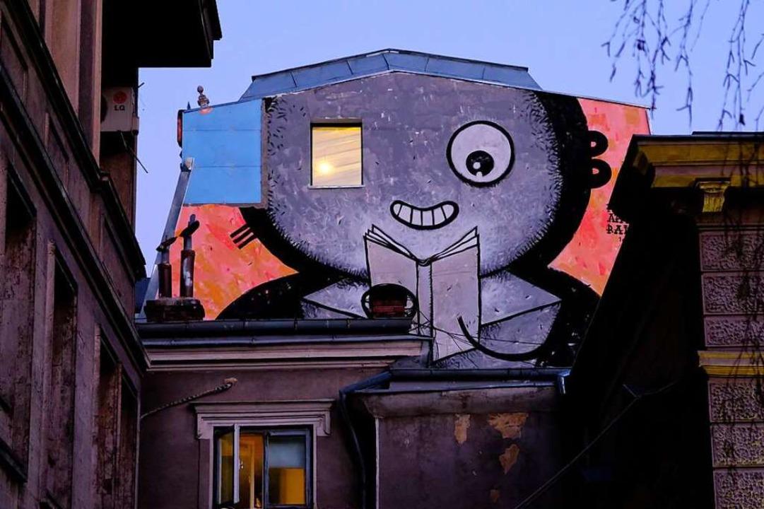 Street-Art in Leipzig  | Foto: dpa