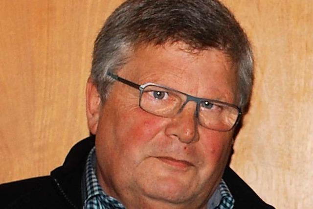Siegfried Bühler scheidet aus dem Haagener Ortschaftsrat aus