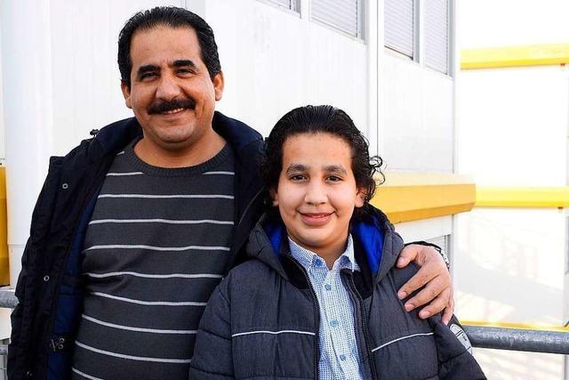 So ist der Alltag in der Flüchtlingsunterkunft im Gewerbegebiet Hochdorf