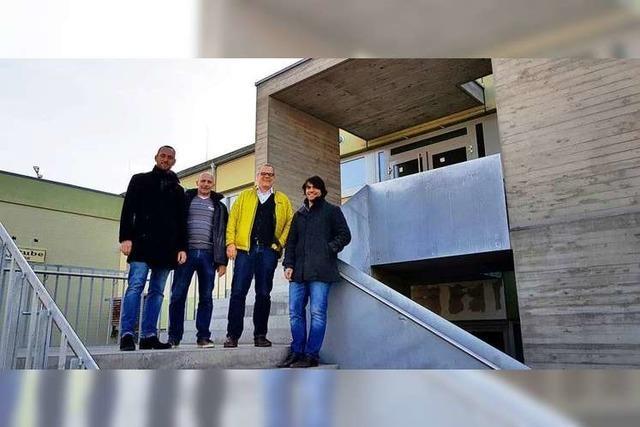Hallensanierung in Niederrimsingen steht vor dem Abschluss