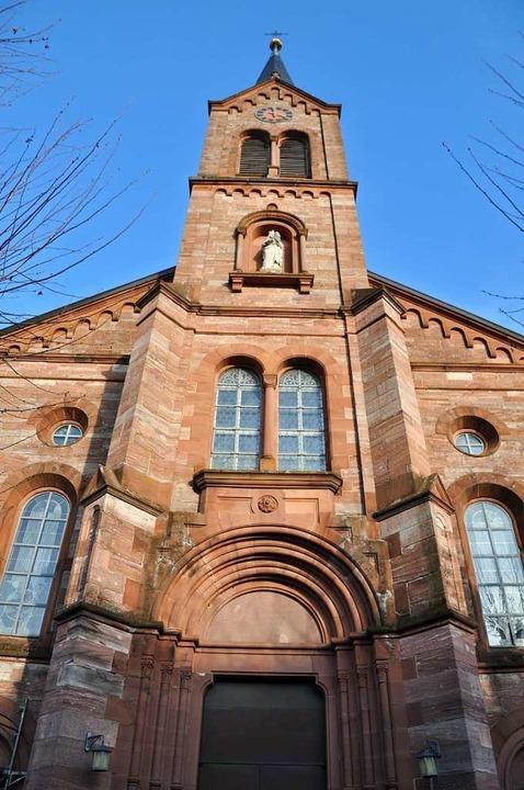 Die katholische Bernhardskirche Schopfheim.  | Foto: Nicolai Kapitz