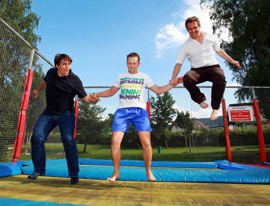 "Freiburger, bitte bewegt euch! Jens Ho...Mission Olympic"" gemacht werden.  | Foto: Patrick Seeger"