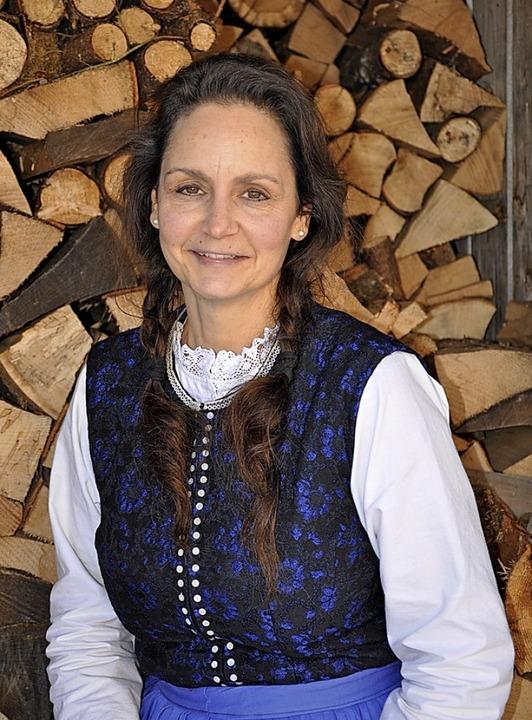 """Corinna Vogt spielt eine tragende Roll...den Welten"""" und führt die Regie.    Foto: Ursula Ortlieb"""