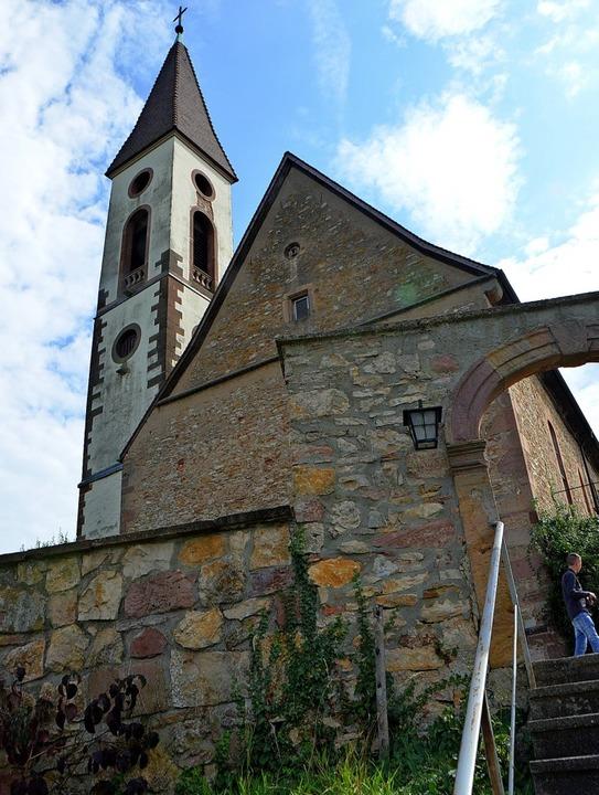 Ein Kleinod ist die Nimburger Bergkirc..., der seit nunmehr 40 Jahren besteht.   | Foto: Gerhard Walser