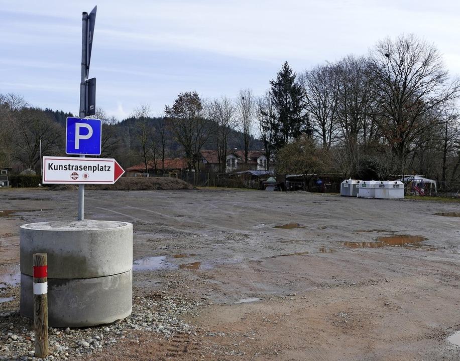 Auf diesem Gelände in Wallbach könnte der Übungsplatz entstehen.   | Foto: Axel Kremp