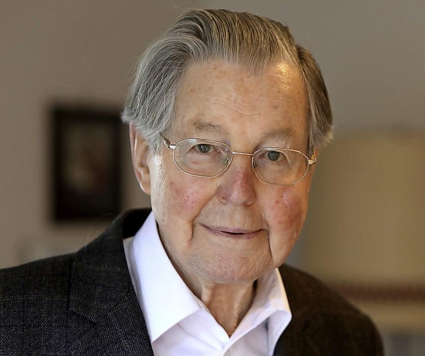 Rolf Geiger wird 90.   | Foto: Christoph Breithaupt
