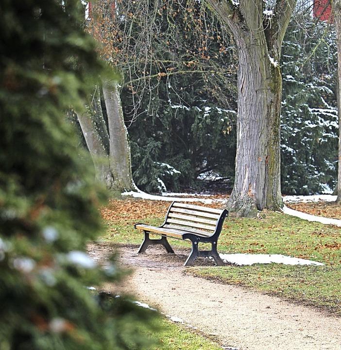 Der Karlsgarten gilt nicht als Angstraum, er ist einsichtig und zugänglich.  | Foto:  Simon, Guy