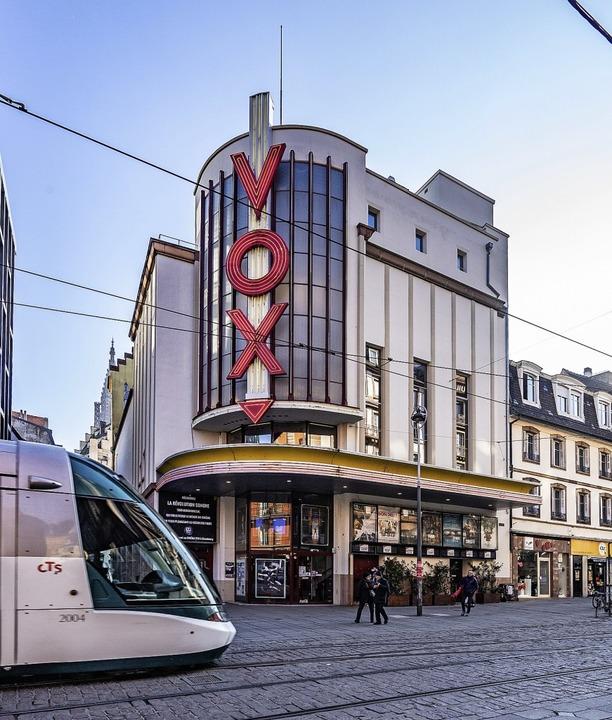 Markantes Gebäude in Straßburg: das Vox-Kino     Foto: teli