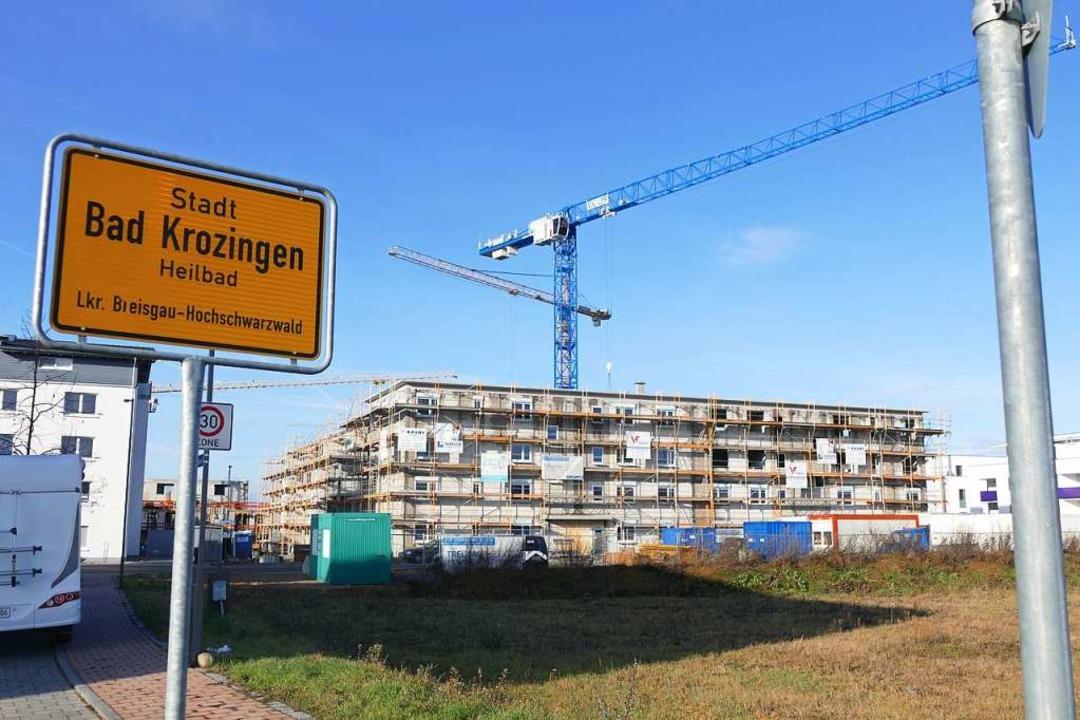Neubaugebiet Kurgarten 2 in Bad Krozingen  | Foto: Frank Schoch