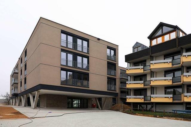 Der Neubau des Emmaus-Pflegezentrums ist fertig