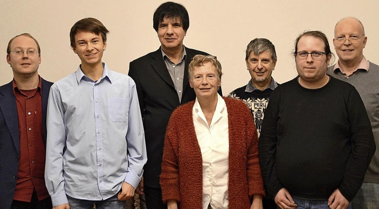 Kandidaten für den Gemeinderat, von li...g, Stefan Rauscher und Rüdiger Lorenz   | Foto: Horatio Gollin