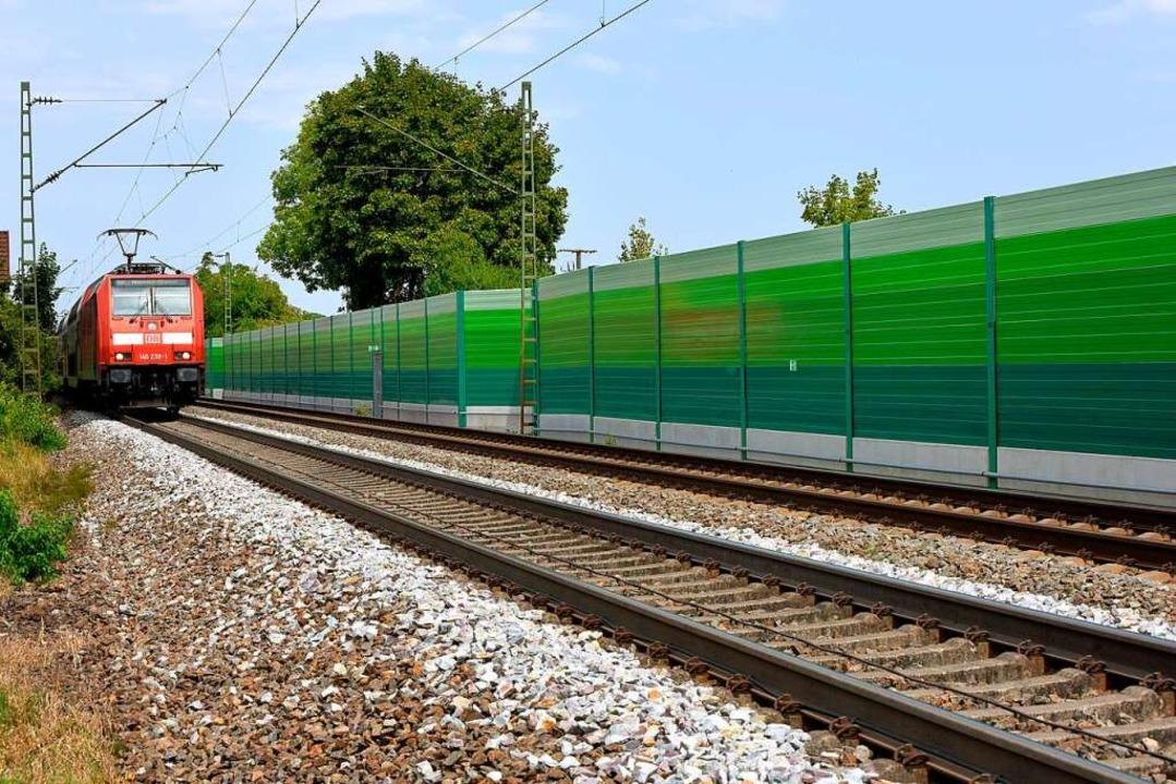 Wie hoch wird der Schallschutz, wenn die Rheintalbahn ausgebaut wird?   | Foto: siegfried gollrad