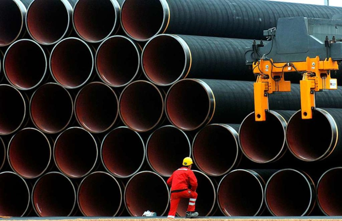 Wie funktioniert eine Pipeline?    Foto: dpa