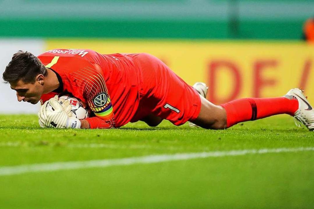 Wolfsburgs Torwart Koen Casteels.  | Foto: dpa