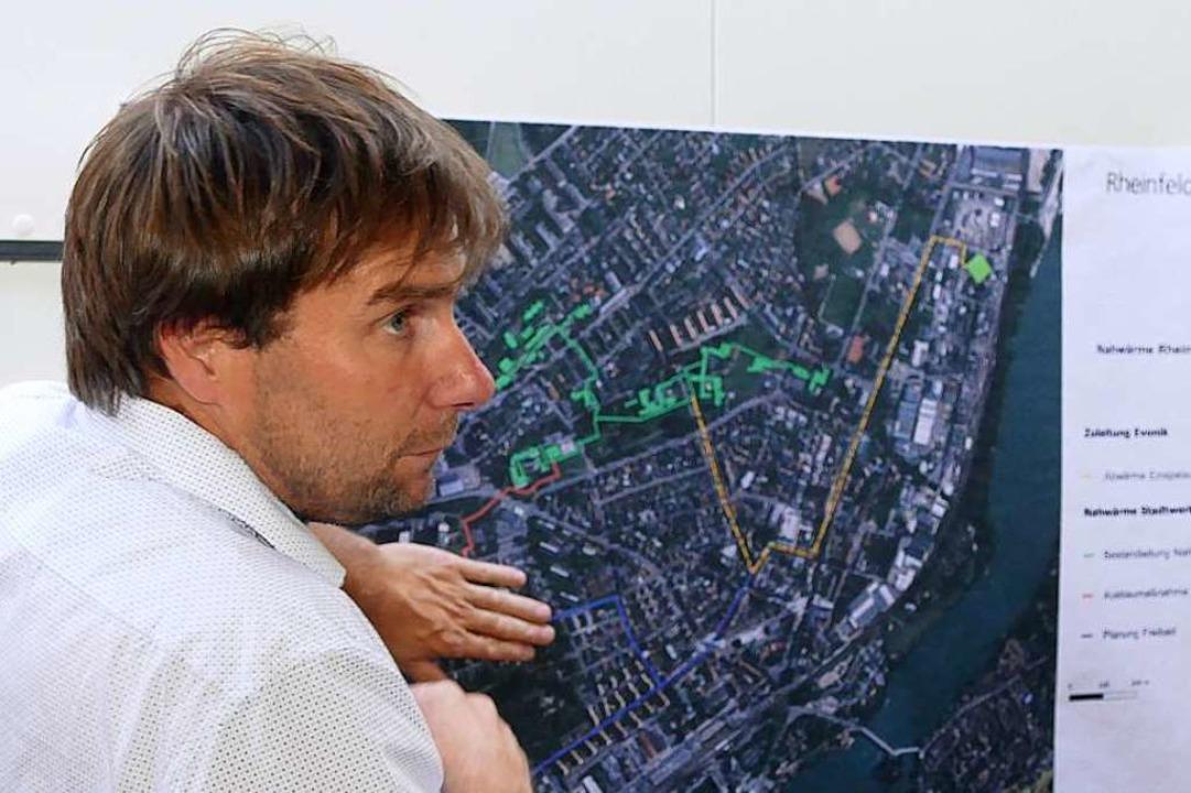Betriebsleiter Daniel Weiß von den Stadtwerken hat 2019 viel vor.  | Foto: Ingrid Böhm-Jacob