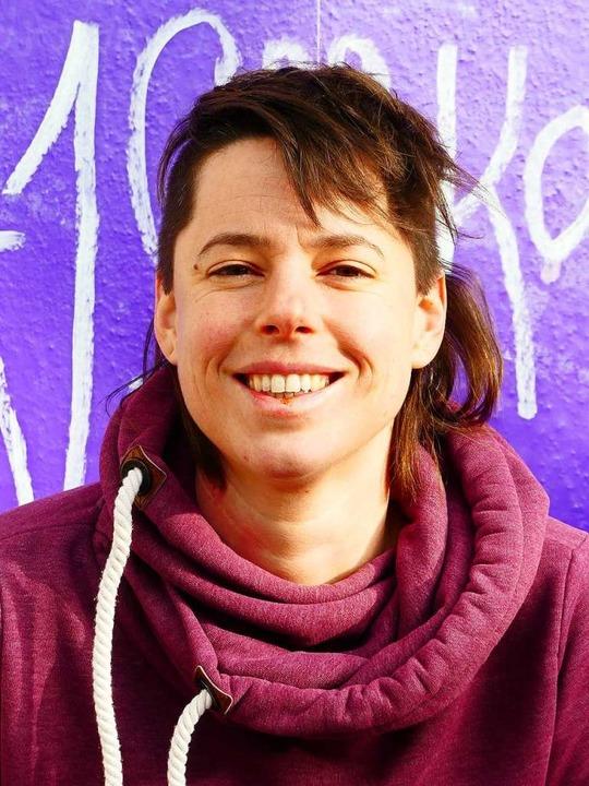 Dorothee Rottmann hat sich mit dem Caf...eundliche Arbeitsumgebung geschaffen.   | Foto:  gef