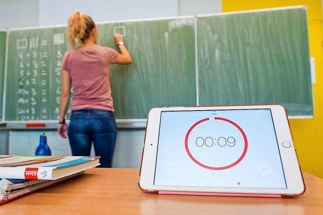 An den Schulen soll die Digitalisierung vorangetrieben werden – doch es fehlt das Geld