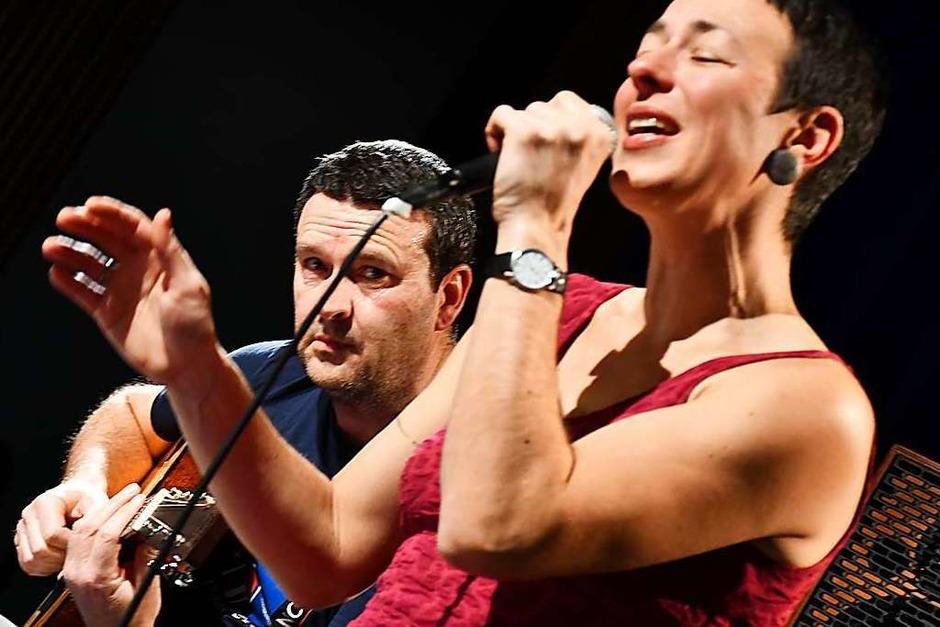 Gefühlvolle Musik: Steffi Lais und Daniel Maier (Foto: Barbara Ruda)