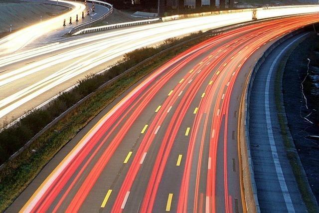 Hauptunfallursache auf deutschen Autobahnen ist zu schnelles Fahren
