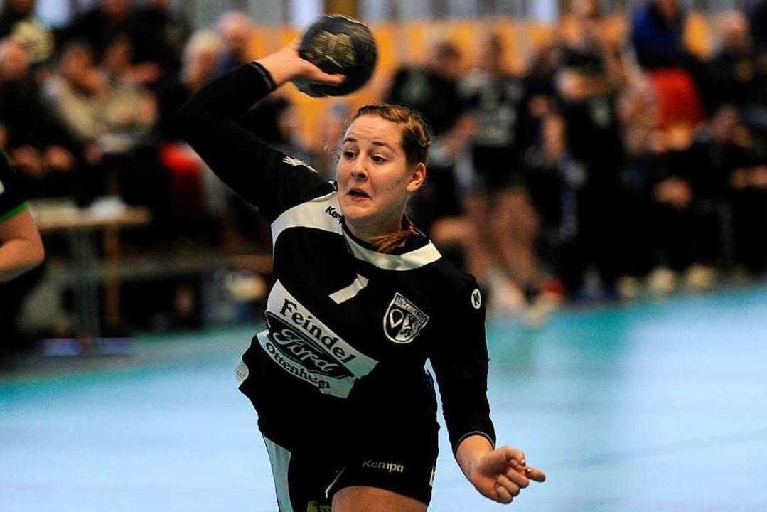 Saskia Gehrlein erzielte vier Tore für den TuS Ottenheim.  | Foto: Pressebüro Schaller
