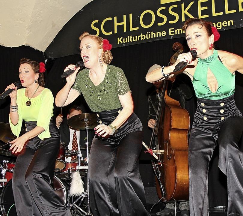 Die Shoo Shoos in Aktion  | Foto: Dagmar Barber