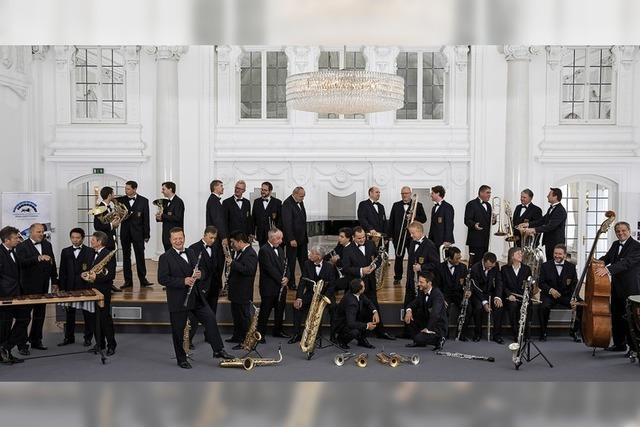 Landespolizeiorchester spielt in Bötzingen