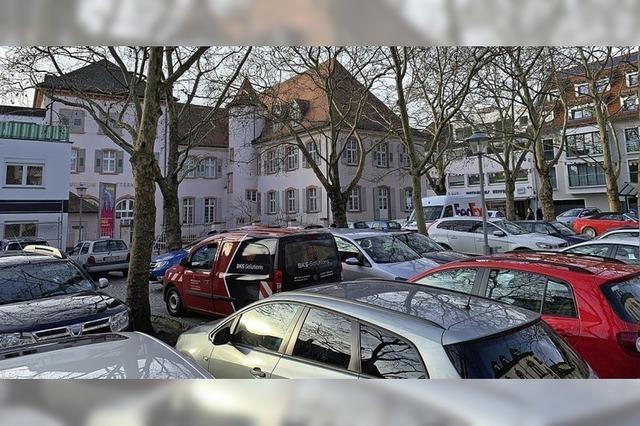 Aufnahme in das städtische Parkleitsystem